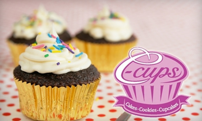 C-Cups Cakery - Regent: $8 for 24 Mini Cupcakes at C-Cups Cakery ($16 Value)