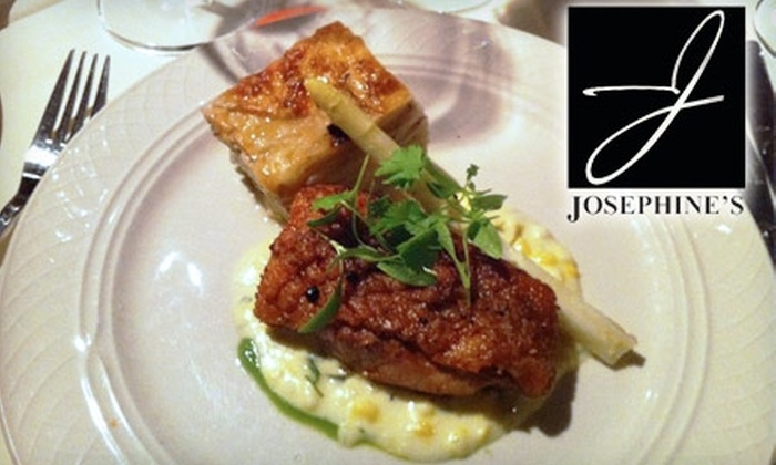 Josephine's Restaurant - Marietta: $25 for $50 Worth of Fine Dining at Josephine's Restaurant in Marietta