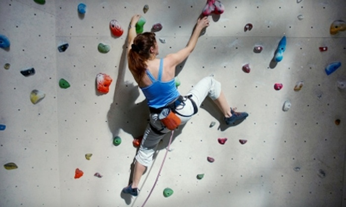 Texas Rock Gym - Spring Branch Central: $15 for a One-Day Pass, Safety Harness, Chalk, and Shoes at Texas Rock Gym (Up to $29.99 Value)
