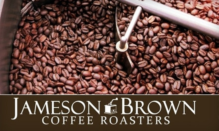 Jameson Brown Coffee Roasters - Mid Central: $14 for Two Weeks Worth of Coffee or 2 Pounds of Coffee at Jameson Brown Coffee Roasters in Pasadena