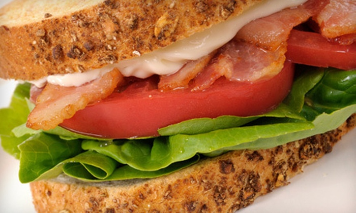 A&J Coffee Shop - Central Business District: $9 for Four Sandwiches at A&J Coffee Shop ($19.80 Value)