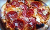 ZaZa Fine Salad & Wood Oven Co. - Conway: $10 for $20 Worth of Napoli-Style Pizza, Fresh Salads, and Drinks at Za Za Fine Salad & Wood Oven Pizza Co. in Conway