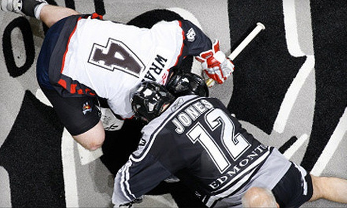 Edmonton Rush - Montrose: $25 for One Ticket to See the Edmonton Rush Season Opener at Rexall Place on January 20 at 7 p.m. ($56.25 Value)