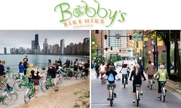 Bobby's Bike Hike - Chicago:  $18 Bike Tour of Chicago with Bobby's Bike Hike