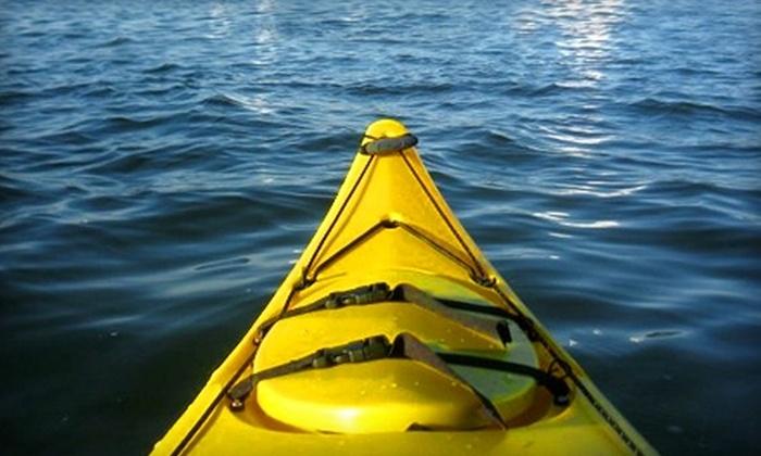 2K Adventure Gear - Richmond: $39 for a Half-Day Kayak Trip from 2K Adventure Gear in Richmond