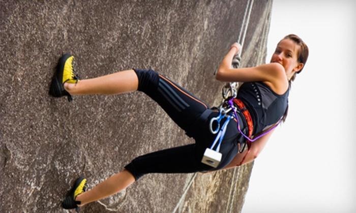 Rock Climbing School - Los Paseos: Rock-Climbing Class or Private Rock Climbing for Two from Sierra Rock Climbing School