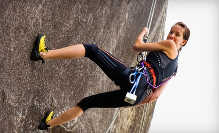 Half Day of Private Guided Rock Climbing for 2 (a $310 value) - Rock Climbing School in