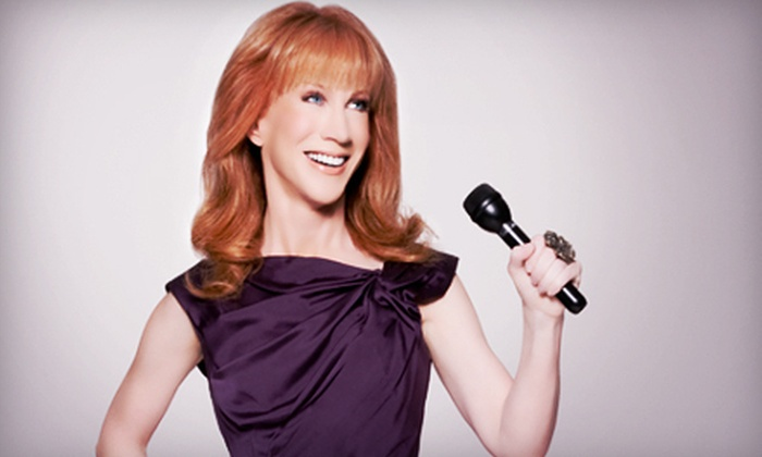 Kathy Griffin - River Bluffs: Kathy Griffin at Rialto Square Theatre in Joliet on May 20 at 7 p.m. (Up to 51% Off). Two Options Available.