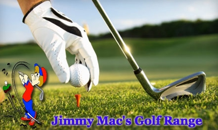 Jimmy Mac's Golf Range - South Fork: $25 for One Private Lesson and One Bucket of Range Balls at Jimmy Mac's Golf Range