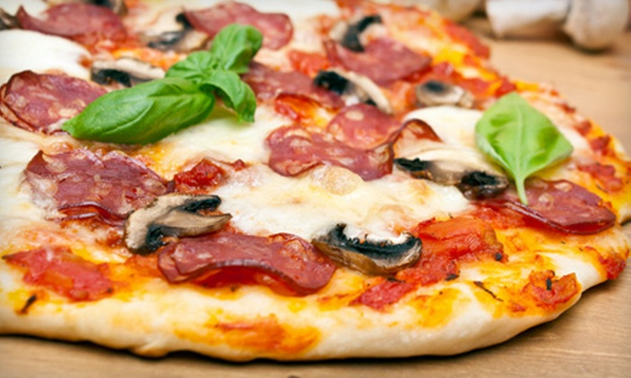 Pete's Pizzeria & Restaurant - Bayside: Pizza Dinner for Two or Four at Pete's Pizzeria & Restaurant in Bayside (Up to 56% Off)