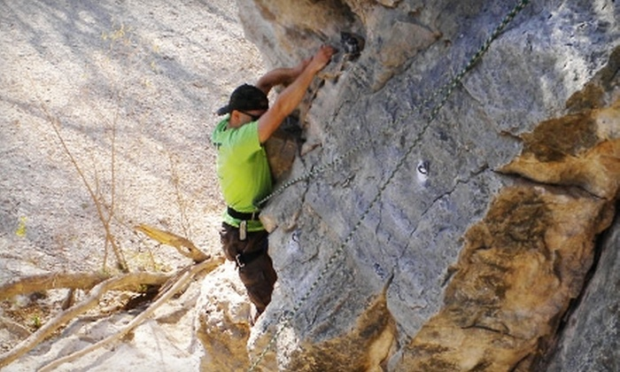 Mountain Madness Rock Climbing School - Multiple Locations: $50 for a Four-Hour Beginner Climbing Class at Mountain Madness Rock Climbing School ($110 Value)