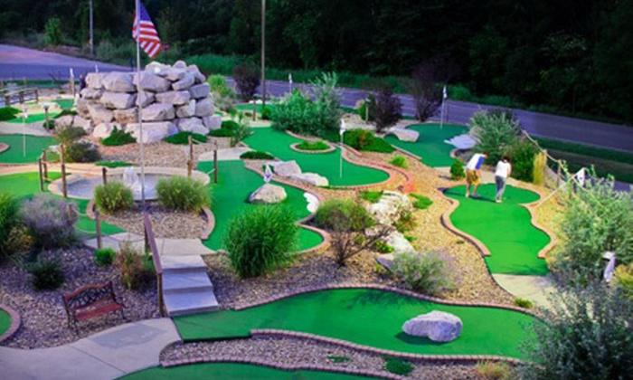 Golf Shores Fun Center - Harrison: $15 for an All-Day Mini-Golf Outing for Two at Golf Shores Fun Center in Corydon ($30 Value)