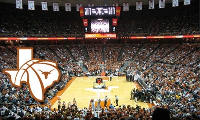 University of Texas Men's Basketball - Downtown: $23 for Four Tickets to University of Texas Men's Basketball Games