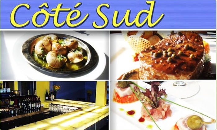 Cote Sud - Castro: $10 for $25 Groupon to Côté Sud