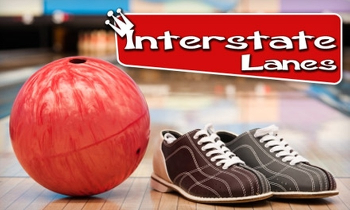 Interstate Lanes - Rossford: $5 for Two Games of Bowling and One Shoe Rental at Interstate Lanes in Rossford