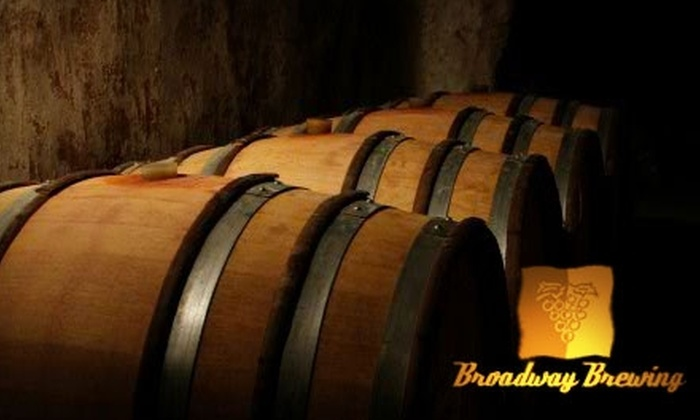 Broadway Brewing and Winemaking - Kitsilano: $20 for a Beginner Brewing or Winemaking Course at Broadway Brewing & Winemaking