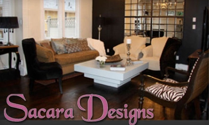 Sacara Designs - Near North Side: $45 for In-Home Design Consultation from Sacara Designs ($150 Value)