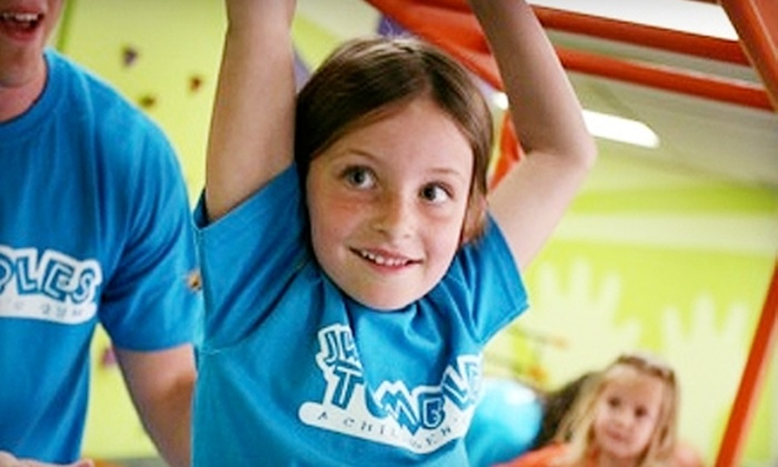 JW Tumbles - Prince's Bay: $45 for Three Classes and Eight Playspace Passes at JW Tumbles ($220 Value)