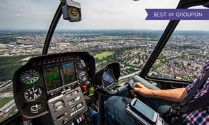 Level One Foto / Heliflug: 20 oder 26 Min. Hubschrauber-Flug mit Berufspilot für 1 Person mit Level One Foto / Heliflug (bis zu 58% sparen*)