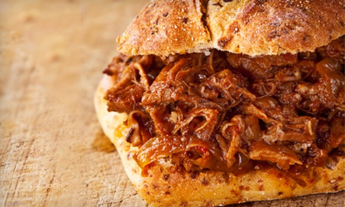 Timmy's Pizza & BBQ - Keyser: Dinner or Lunch at Timmy's Pizza & BBQ in Garrett (Up to 53% Off)