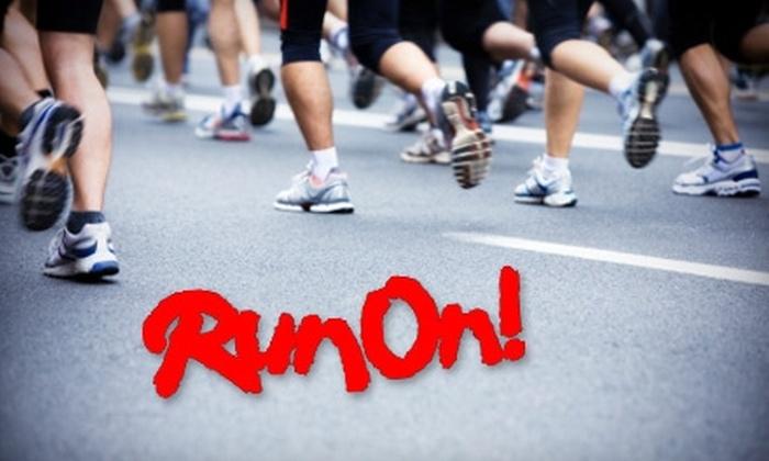 Run On! San Antonio - Stone Oak: $25 for $50 Worth of Footwear, Apparel, Classes, and More at Run On! San Antonio