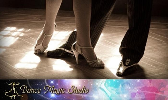 Dance Magic Studio - Central Oklahoma City: $29 for Three Advanced Classes or Four Intermediate Private Dance Lessons at Dance Magic Studio in Warr Acres ($240 Value)