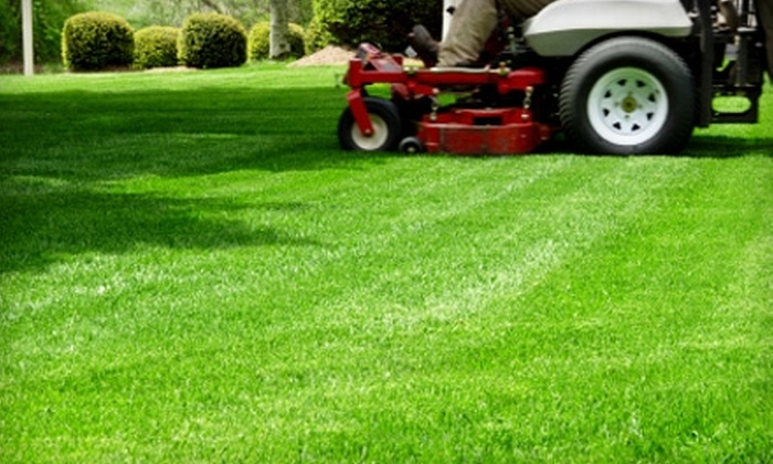 Unique Landscape - Courtland: $89 for Four Residential Lawn-Mowing Services from Unique Landscape ($180 Value)