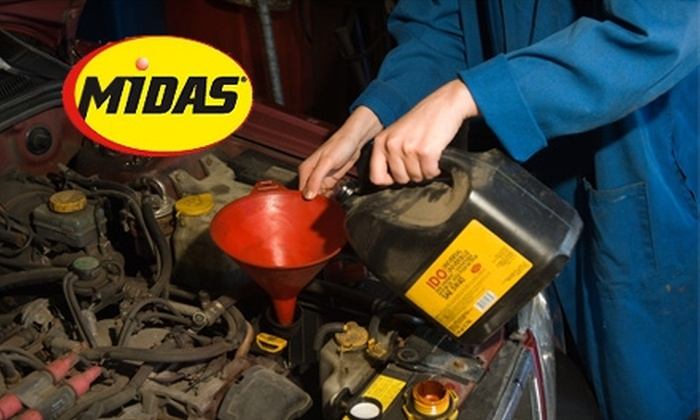 Midas Memphis - Memphis: $19 for Oil Change and Tire Rotation at Midas Memphis in East Memphis