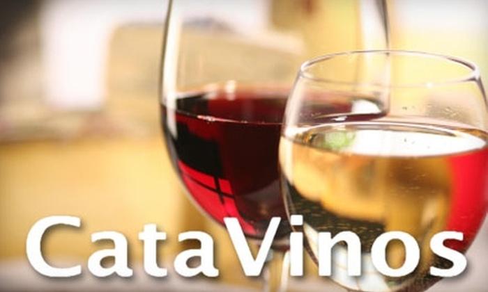 CataVinos Wine Shoppe & Tasting Room - North Dodge: $10 for a Wine Tasting for Two at CataVinos Wine Shop & Tasting Room