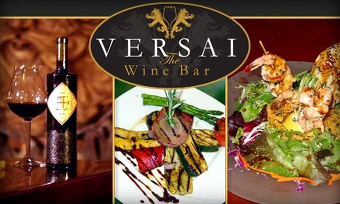 Versai The Wine Bar - Yorba Linda: $20 for $40 Worth of Pours and Plates at Versai The Wine Bar