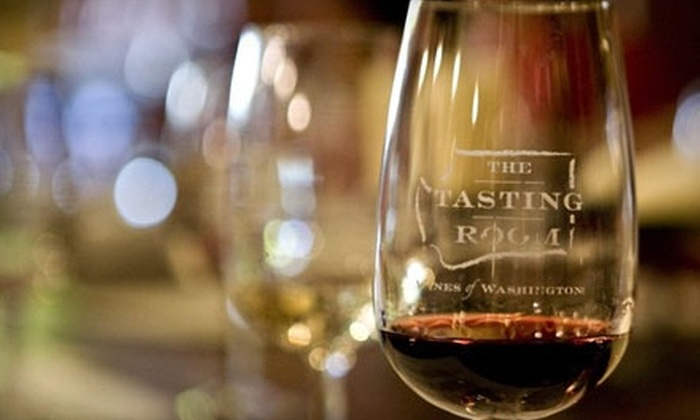 The Tasting Room Seattle - Pike Place  Market: $10 for $20 Worth of Wine Tastings Plus 20% Off Any Take-Home Bottles at The Tasting Room