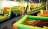 JUMPnasium - Fairfield: $11 for Two Open Jump Passes or $9 for Two Sunrise Sunday Parent & Me Open Jump Passes at Jumpnasium in Fairfield
