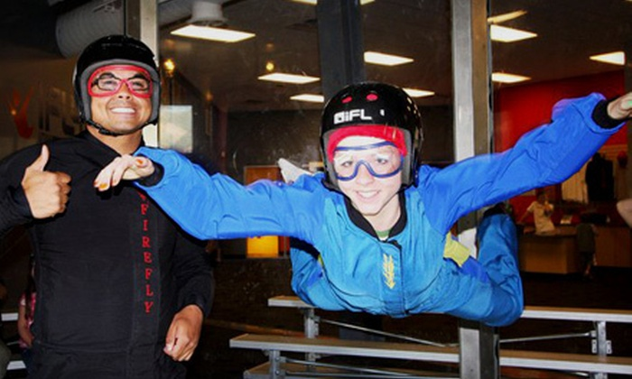 iFly Utah - Ogden: Indoor Extreme-Sports Package for Two or Four from iFly Utah (Up to 52% Off)