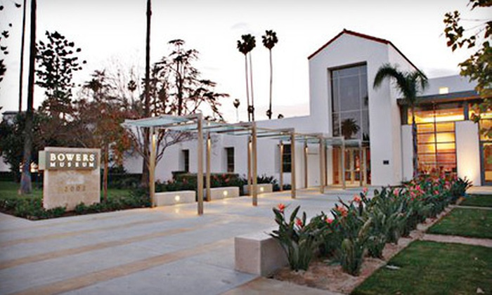 Bowers Museum of Cultural Art - Santa Ana: Individual or Family Membership to Bowers Museum of Cultural Art in Santa Ana (Half Off)