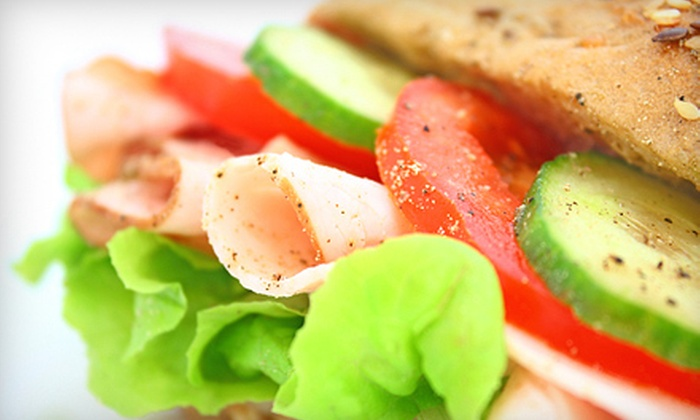 Paradise Deli - Historic Downtown: Sandwich Meal for Two or Four at Paradise Deli in Jersey City (Up to 62% Off)