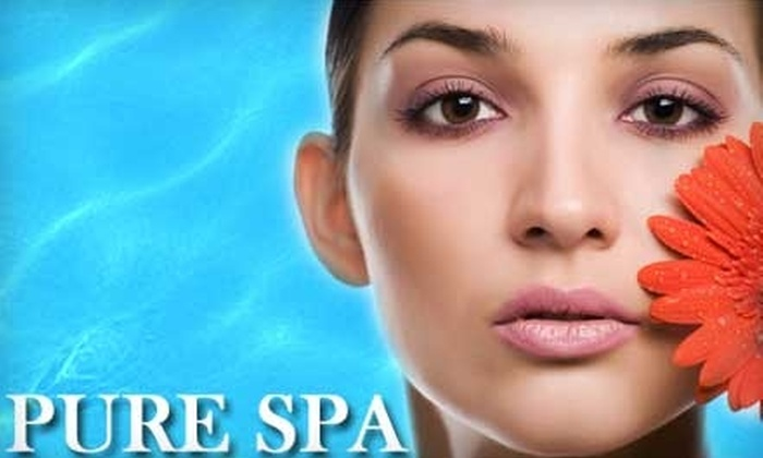 Pure Spa - Oklahoma City: $25 for a Yam and Pumpkin Enzyme Peel at Pure Spa ($60 Value)