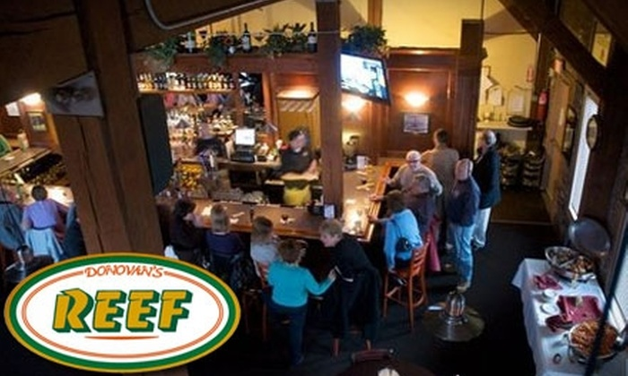 Donovan's Reef - Branford: $10 for $20 Worth of American Fare and Drinks at Donovan's Reef in Branford