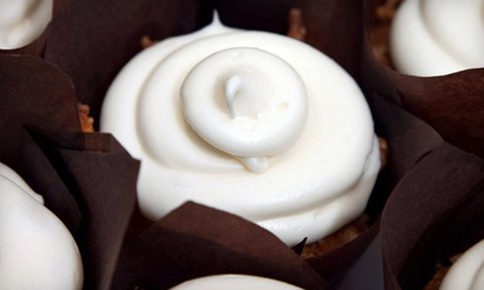 Bake For You - Central Avenue: One Dozen Cupcakes or $10 for $20 Worth of Baked Sweets at Bake For You