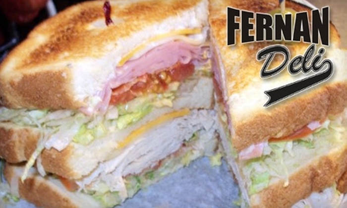 FernanDeli - Fernandina Beach: $6 for $12 Worth of Deli Sandwiches, Soups, and More at FernanDeli