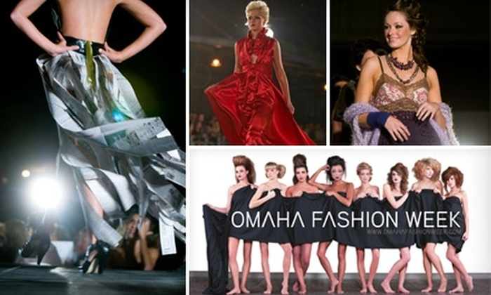 Omaha Fashion Week - Downtown: $20 for One Reserved Ticket to Omaha Fashion Week Finale