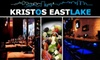 Kristos Eastlake - Portage Bay: $10 for $25 Worth of Homemade Greek Fare and Drinks at Kristos Eastlake