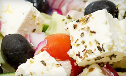$30 Worth of Greek Fare Any Day of the Week - Its Greek To Me in Orland Park