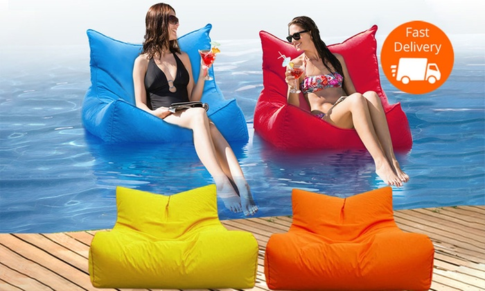 Giant Floating Pool Bean Bag Groupon