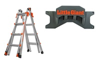Little Giant LT 17-ft Ladder with Wall Rack