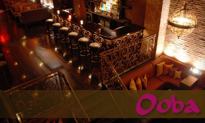Ooba - Williamsburg: $20 for $40 Worth of Latin Tapas at Ooba