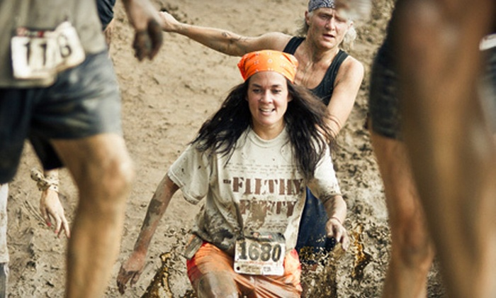 Grand Rapids Mud Run - Gaines: $19 for T-Shirt and Adult Registration to Grand Rapids Mud Run 5K on Saturday, August 25 ($40 Value)