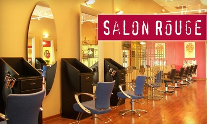 Salon Rouge - Multiple Locations: $40 for Full Highlights and Deep-Conditioning Treatment at Salon Rouge (Up to $110 Value)