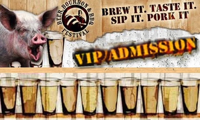 Trigger Agency  - Capitol Hill Area: $20 for VIP Admission to Beer, Bourbon, and BBQ Festival