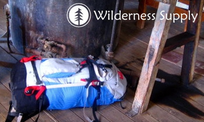 Wilderness Supply Company - Winnipeg: $15 for $30 Worth of Adventure Gear from Wilderness Supply Company