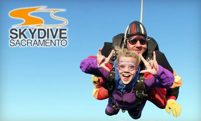 Skydive Sacramento - Lincoln: $119 for a Tandem Jump at Skydive Sacramento (Up to a $199 Value)